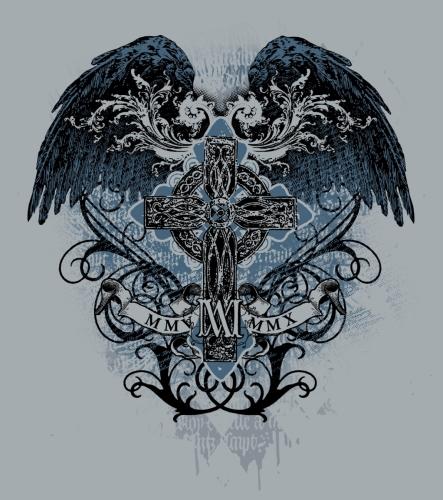 Celtic Cross Wings