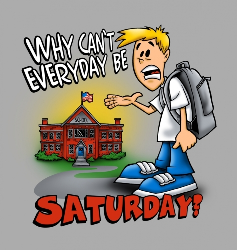 Every Day Be Saturday
