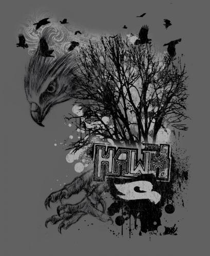 Hawk Sketch Tree
