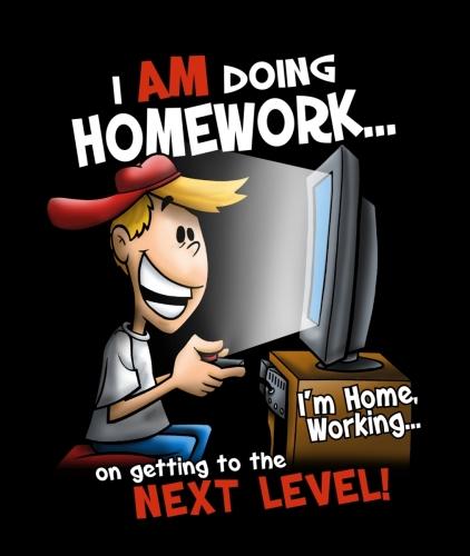 I Am Doing Homework