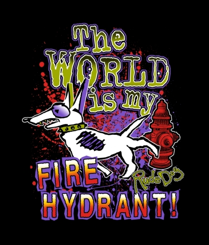 The World Is My Fire hydrant