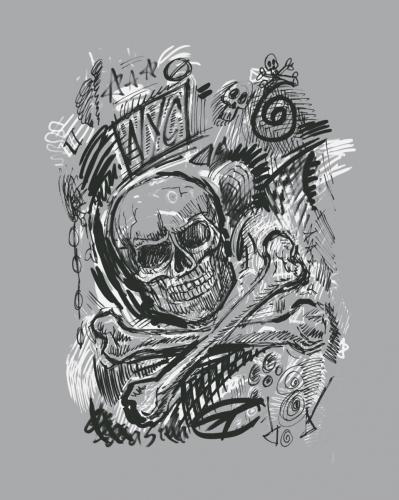 Skull Scribbles