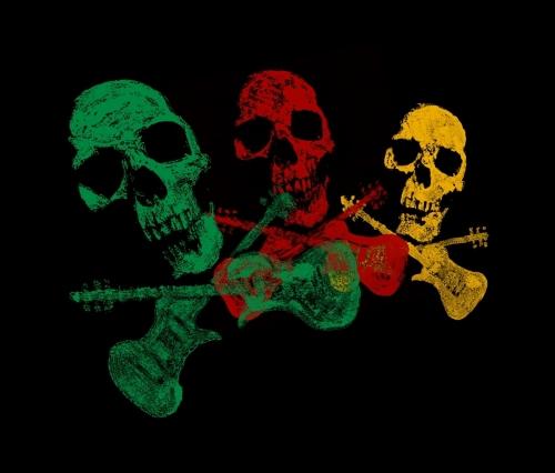 Skull Stamp Guitars