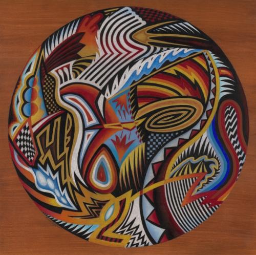 Abstract Patterns Mandala