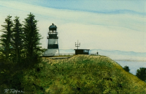 Cape Disappointment Lighthouse Miniature