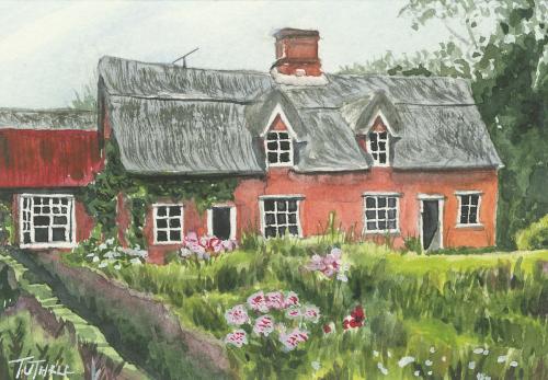 Ufford Cottage Miniature