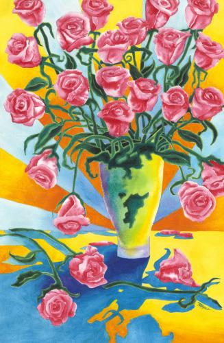Stylized Rose Bouquet