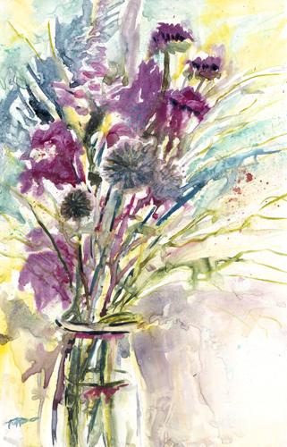Impressionistic Bouquet