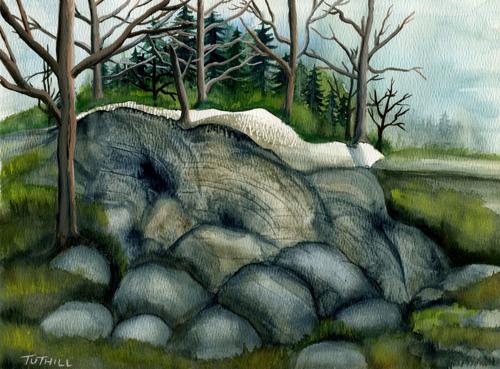 Rocks & Trees (large view)