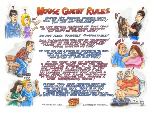 House Guest Rules