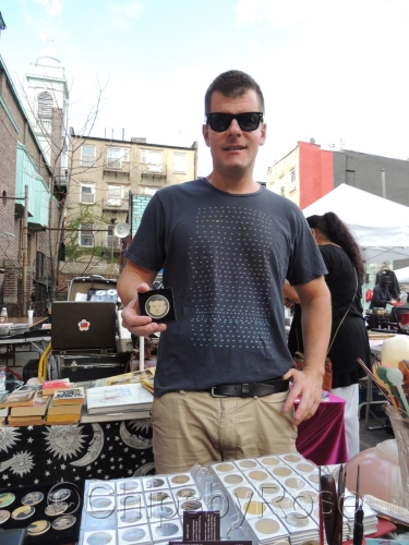 Selling at 11th street flea