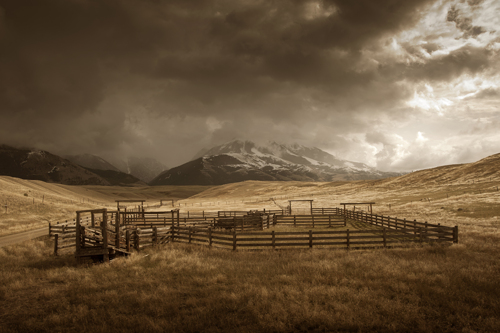 Big Sky Corral by Rudolph DeRam