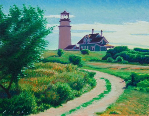 Highland Light Sketch