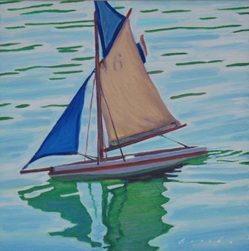 Pond Boat Six