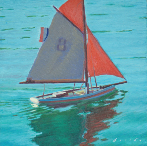 Pond Boat Eight