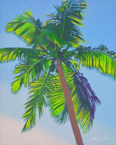 Sunlit Palm