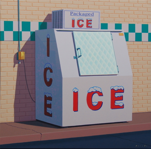 Checkered Ice by Rob Brooks