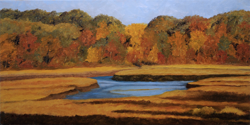 Back River Marsh - Autumn