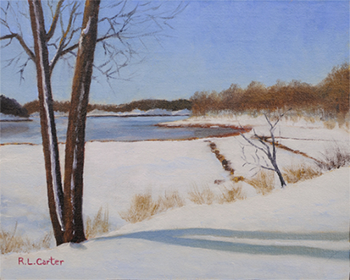 Winter Along the Back River