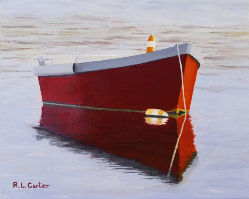 Red Oyster Boat
