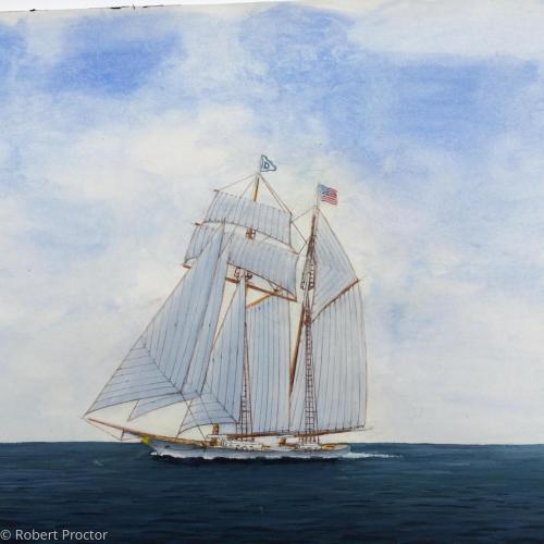 Alabama sails