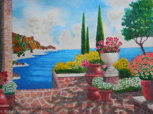 Amalfi waterside