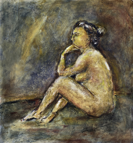 Seated Nude (Claire)