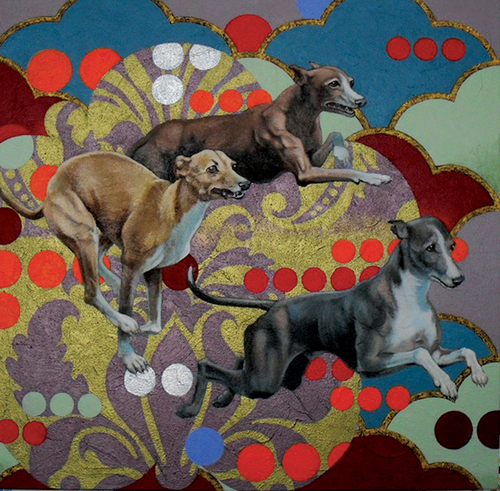Italian Greyhounds by Robert Sites