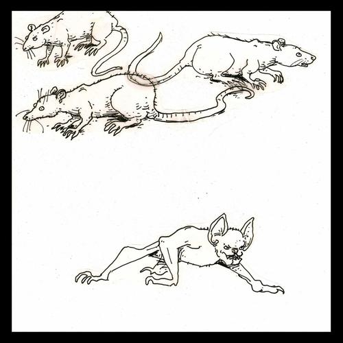 Bat with Rats