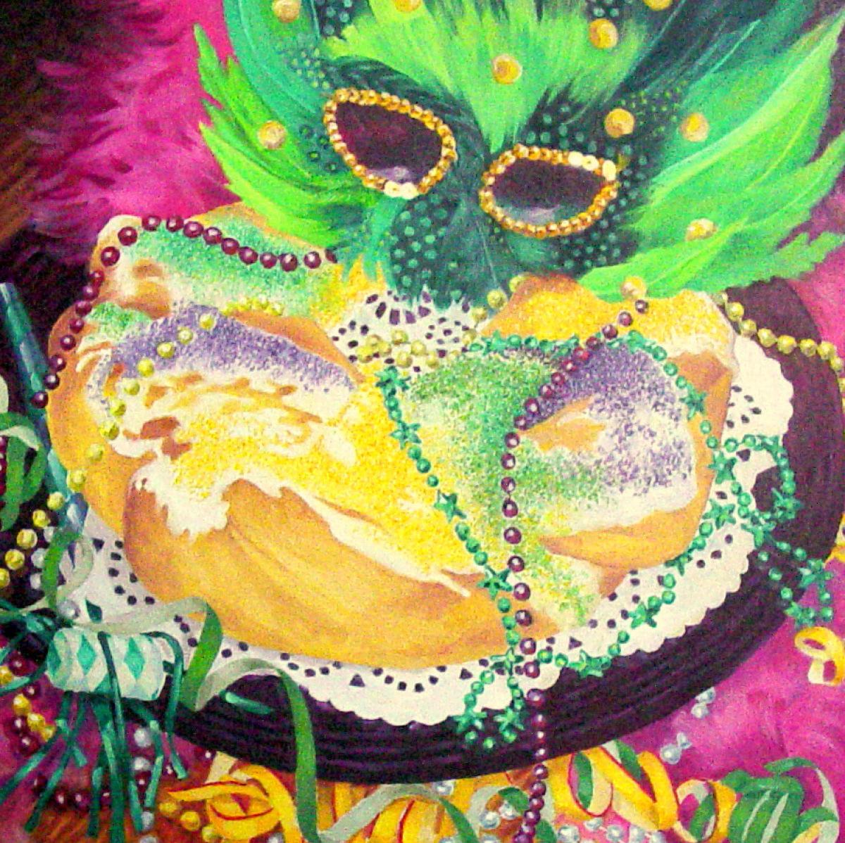 """""""KING CAKE"""" (large view)"""