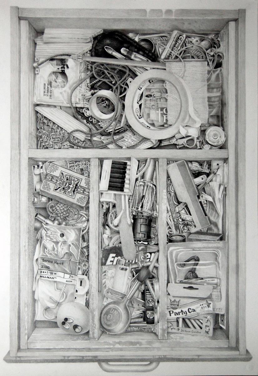 """""""JUNK DRAWER"""" (large view)"""