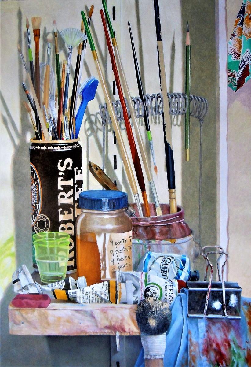 """Studio Still Life"" (large view)"