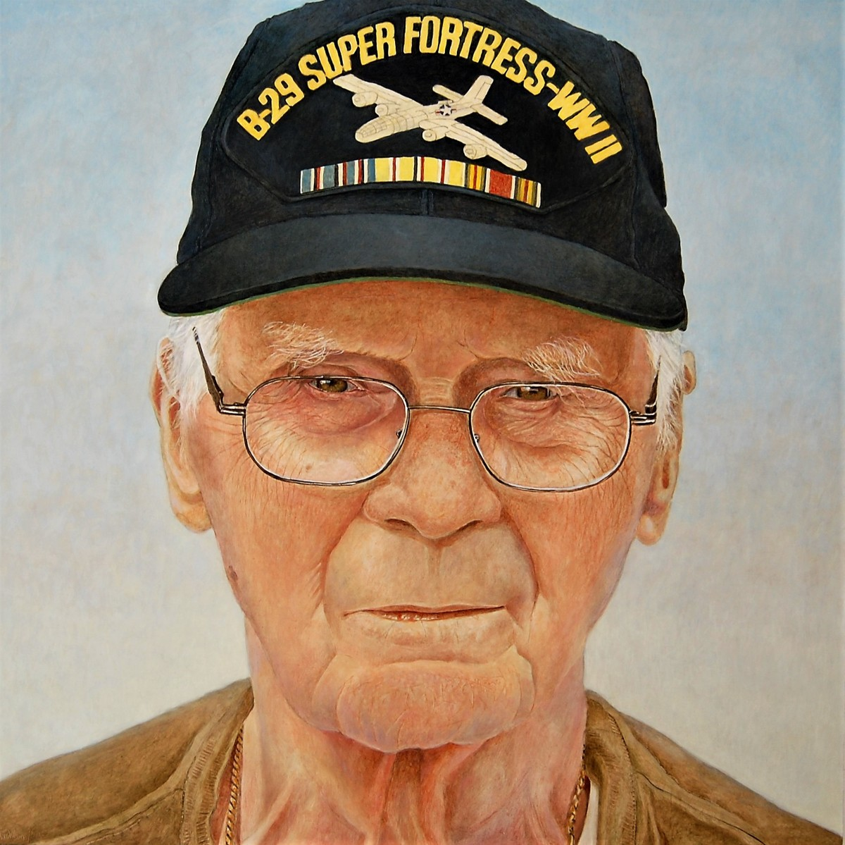WW II Vet, Ed (large view)