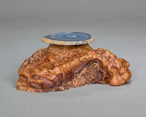 Manzanita Burl with Agate Shelf
