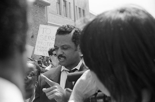 Jessie Jackson At Rodney March (large view)
