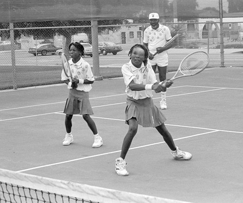 Serena and Venus#4 by Roderick Lyons