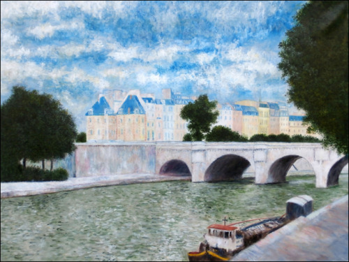 View of Paris by the Seine