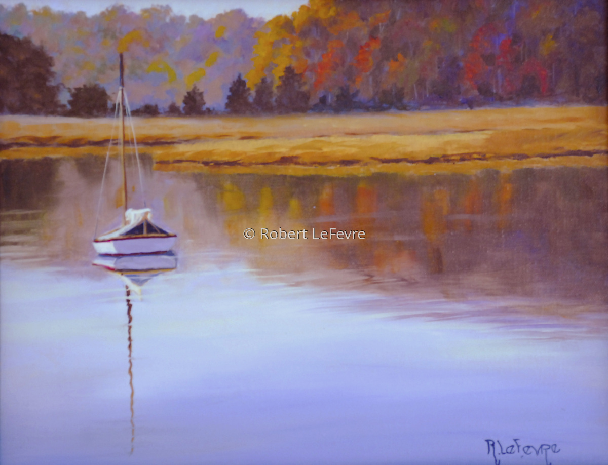 """""""FALL REFLECTIONS (large view)"""