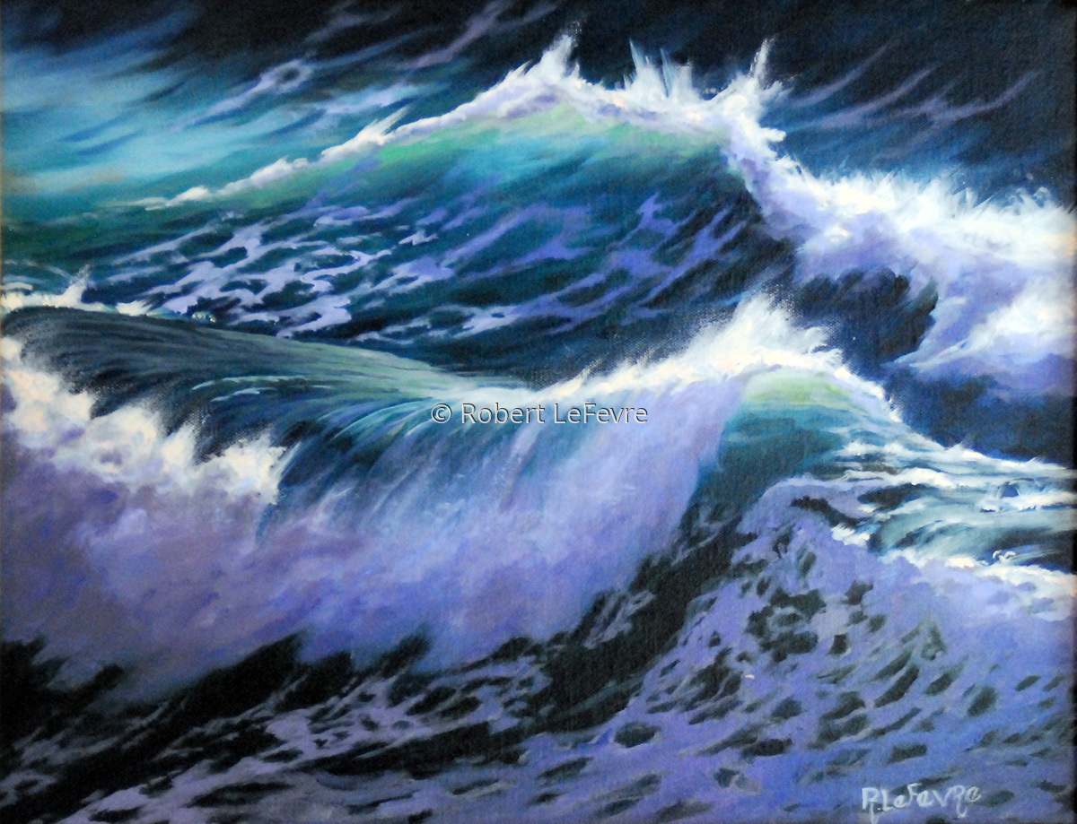 """""""WAVE DANCE II"""" (large view)"""