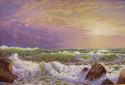 Painting--Oil-Seascapecopy: William Trost Richards