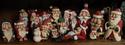 Wood-Santas: Group Photo
