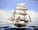 Painting-My Second Clipper Ship (age 20)