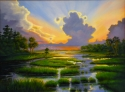 """GLORIOUS MARSH SUNSET"" (thumbnail)"