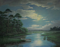 """MOON LIGHT ON THE MARSH"" (thumbnail)"