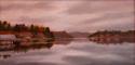 Painting--Oil-LandscapeMY BACKYARD, LAKE KOWEE