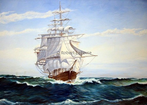 My First Clipper Ship ( 18 years old) (large view)