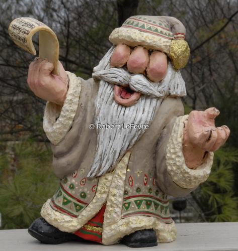 Santa: Tra-la -la-la (large view)