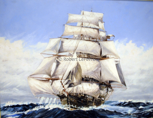 My Second Clipper Ship (age 20) (large view)