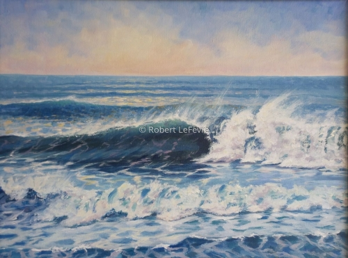 """A PERFECT WAVE"" (large view)"