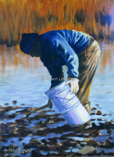 """CLAM DIGGER"" (large view)"